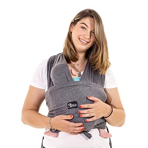 Koala Babycare® Fascia porta bambino facile da indossare (easy on), regolabile unisex - Marsupio...