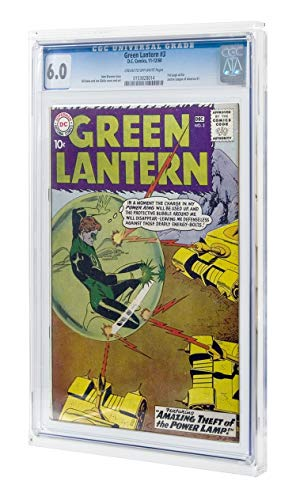 Collectible Grading Authority Comic Book Display Case & Wall...