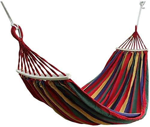 Hamocks Hammock Swing Chair 200X150Cm Max Loading Capacity 300 Kg Garden Hammock for Yard Camping Beach and Patio Easy to Store Gymqian