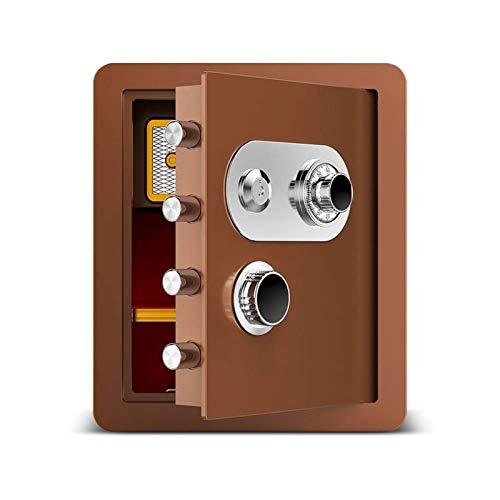XHMCDZ Segura y bloqueo Box - Caja de Seguridad, cajas fuertes y cajas de bloqueo, caja de dinero, cajas de seguridad for el hogar, caja de seguridad digital, acero de aleación gota segura, incluye te