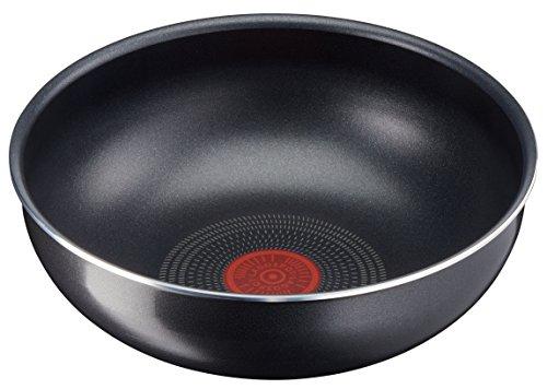 Lagostina Ingenio Essential Wok, ø 28cm, Aluminium, schwarz