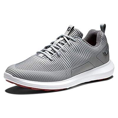 FootJoy Men's FJ Flex XP Golf Shoes, Grey, 12 M US