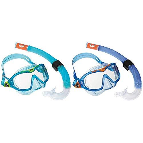 Aqua Lung Sport Kinder-Schnorchel-Set mit Tauchmaske und Schnorchelrohr Einheitsgröße Blau - aqua & Lung Sport Combo Mix Tauchset, Blue, Einheitsgröße