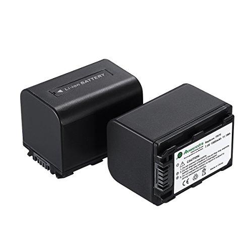 Powerextra 2 PCS Sony NP-FH70 Replacement Li-ion Battery For Sony DCR-DVD650, DCR-HC20, DCR-HC21, DCR-HC22, DCR-HC48, DCR-HC51, DCR-HC52, DCR-HC53, DCR-HC62, DCR-SR42, DCR-SR45, DCR-SR65, DCR-SR82