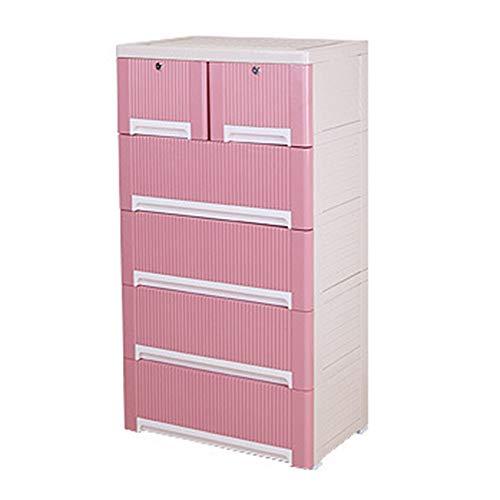 HO-TBO draagbare kledingkast, plastic drawer dresser-organizer eenheid voor slaapkamer speelkamer study kamer entryway eenvoudig te monteren slaapkamermeubels