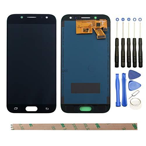 YHX-OU Pantalla táctil LCD de 5,2 pulgadas para Samsung Galaxy J5 (2017) J530 SM-J530F con herramientas completas para Galaxy J5 Pro, color negro