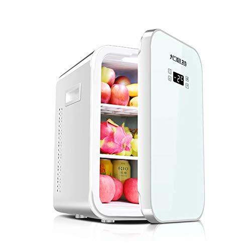 WEIFAN-1 Congélateur 22L de Voiture Petit réfrigérateur Porte Simple Mini congélateur (CNC/Blanc)