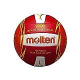 MOLTEN V5B1500 - Balón de Voleibol, Color Rojo, tamaño 5, Rojo