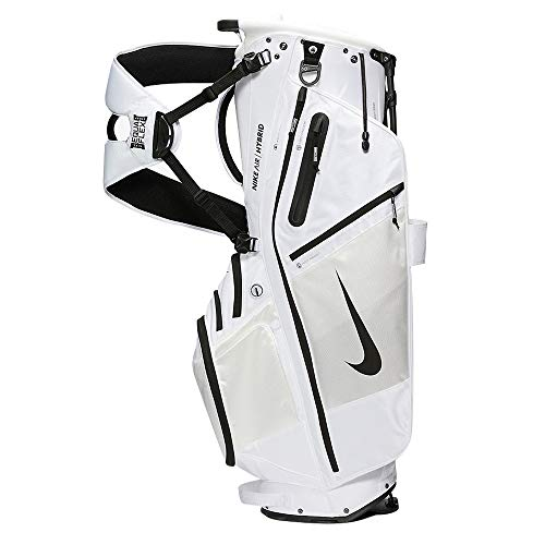 Nike Golf Air Hybrid Carry Stand Bag 2020 (White)