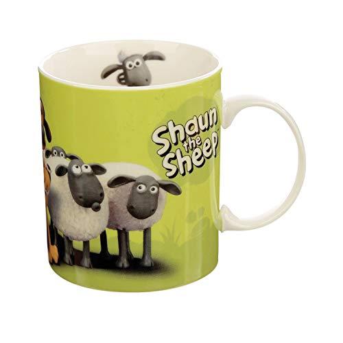 Shaun das Schaf Tasse Porzellan Tasse - grün