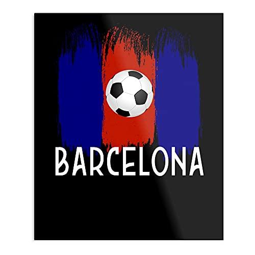 Futbol Barcelona Football Soccer – Impresión Modern Typographic Poster Girl Boss Office Decor Motivational Poster Dorm Room Wall