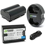 Wasabi Power Battery (2-Pack) & Dual Charger for Fujifilm NP-W235 & Fujifilm GFX 100S, X-T4, VG-XT4 Vertical Battery Grip
