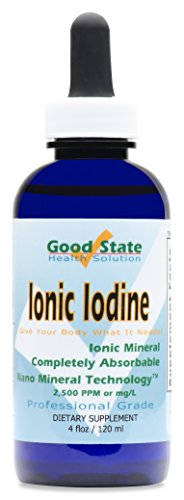 Good State - Liquid ionic iodine - 4 drops equals 500 mcg...