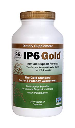 IP6 Gold Immune Support Formula 240 Vegetarian Capsules IP-6 International