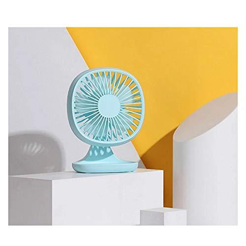 Fan Ventilador USB portátil Mini ventilador de 3 velocidades Escritorio de oficina Ventilador eléctrico pequeño Ventilador de verano Ventilador de enfriamiento de aire Almacenamiento de artículos para