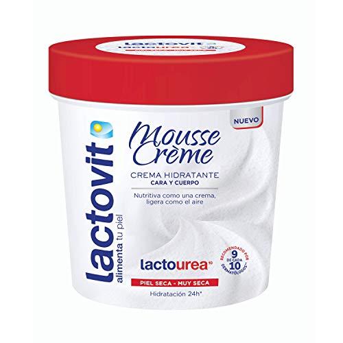 Lactovit - Mousse Crème Hidratante Lactourea para Cuerpo