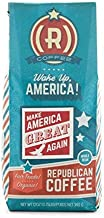 Make America Great Again Coffee by Republican Coffee | Great MAGA Gift for Conservatives and Republicans| Fair Trade | Ground 12oz