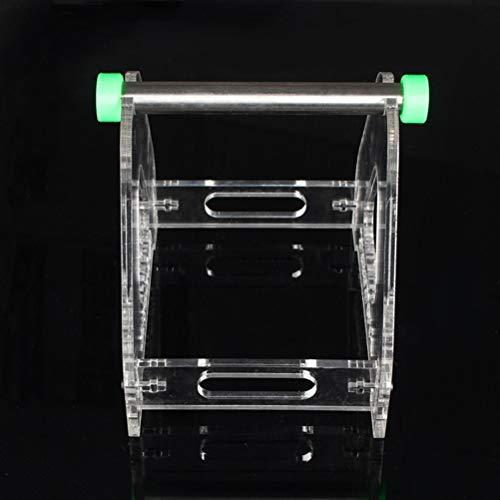 Auartmetion 1 Spool Acrylic 3D Printer Filament Tabletop Mount Rack ABS/PLA Frame Holder Consumables Frame