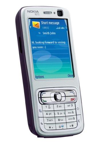 Nokia Handy N73 Plum/Silver ohne Branding