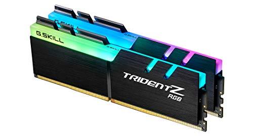 G.SKILL Trident Z RGB 32GB (2 * 16GB) DDR4 3600MHz CL16-19-19-39 1.35V Desktop Memory RAM - F4-3600C16D-32GTZRC