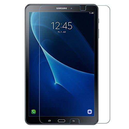 REY Pack 2X Pellicola salvaschermo per Samsung Galaxy Tab A6 T580 2016 10.1', Pellicole salvaschermo Vetro Temperato 9H+, di qualità Premium Tablet