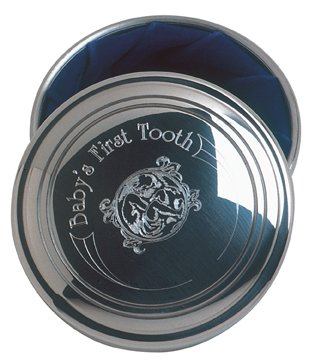 Salisbury Pewter Engravable First Tooth Box