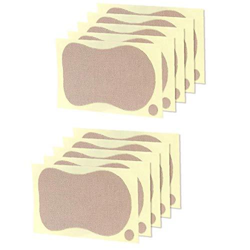 lujiaoshout El Sudor de ratón Bloque Toallitas Axilas Anti Perspirant Pegatinas Verano de Las Mujeres axila Desodorantes para la Camiseta de la Ropa 10PCS Belleza de Piezas
