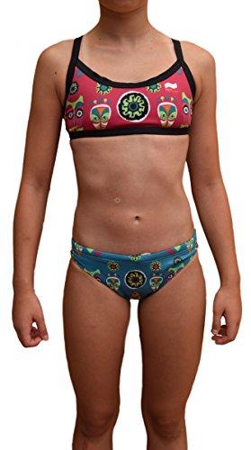Swimgo Africa Design - Sportieve bikini met motief Afrika