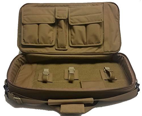 WRB Discreet Sub Gun Case 23″ (Black, Mag Pouch-Sig MPX)