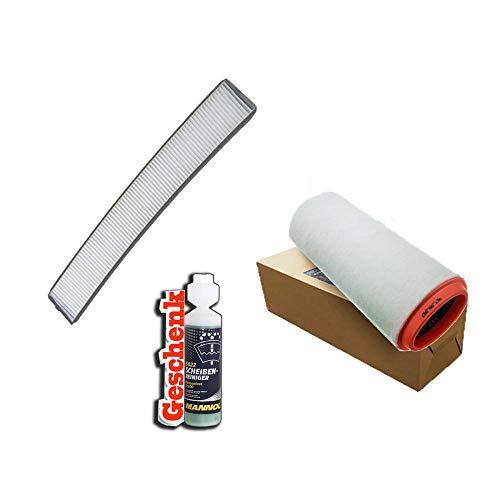 Inspektionspaket Filteristen Pollenfilter SCT Luftfilter und Geschenk