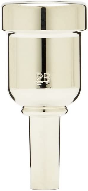 NEW before selling Denis Wick DW6881-2B Heavytop Mouthpiece Fixed price for sale Cornet Silver-Plated