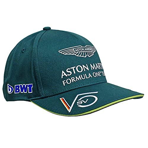 Aston Martin F1 Gorra de béisbol del equipo | Sebastian Vettel | Adulto | Verde | 2021