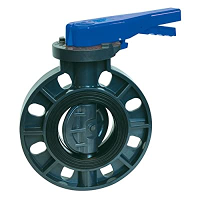 """4"""" PVC Economy Butterfly Valve from Colonial Engineering"""