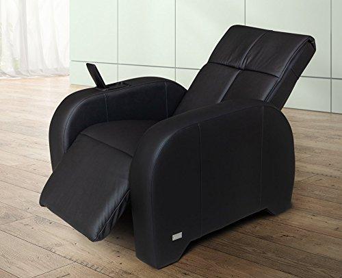 Massagestoel | massagestoel leer zwart KEYTON Omega - ook geschikt als tv-stoel of televisiestoel - top aanbieding van welcon.de