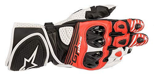 Alpinestars Motorradhandschuhe Gp Plus R V2 Gloves Black White Bright Red, BLACK/WHITE/BRIGHT/RED, L