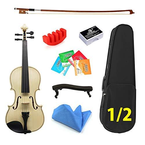 YINGGEXU violín eléctrico Violín acústico 4/4 3/4 1/2 1/4 1/8 para Estudiantes...