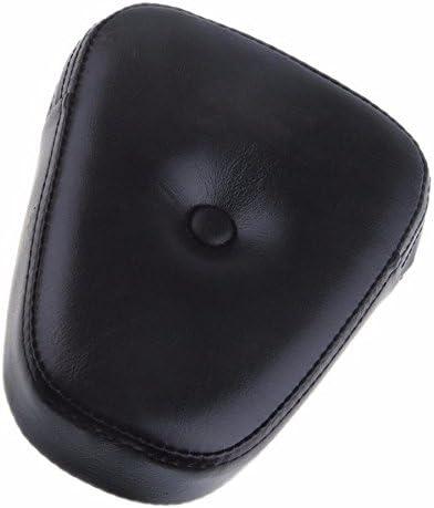 Black Sissy Bar Rear Backrest Popular standard Cushion Pad for Honda Harley Finally resale start Rest