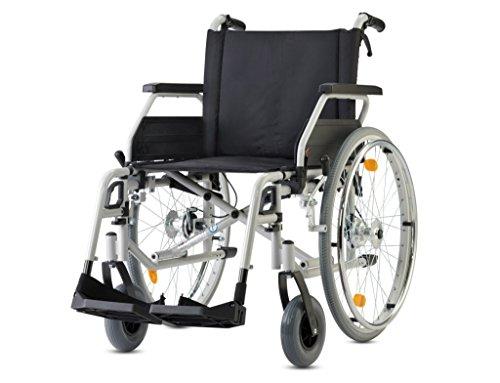 Bischoff Rollstuhl S-Eco 300 Sitzbreite 40 cm inkl. Steckachsensystem und Trommelbremse