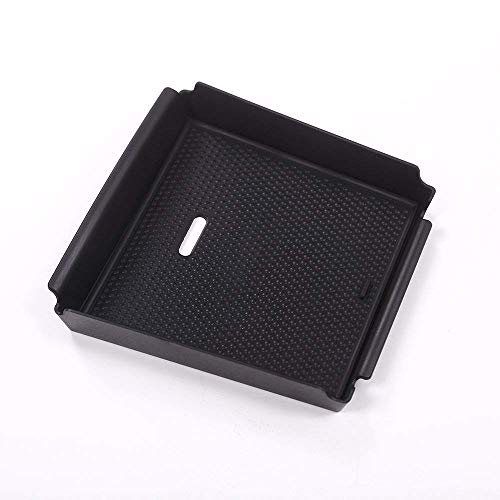 Accessoire intérieur de véhicule Automatique, pour Giulia 2017, bac à téléphone avec boîte de Rangement à accoudoirs avec Tapis antidérapant en Plastique Noir, 1 pcs/kit