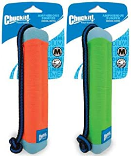 Chuckit! Amphibious Bumper Medium, Assorted Orange & Green