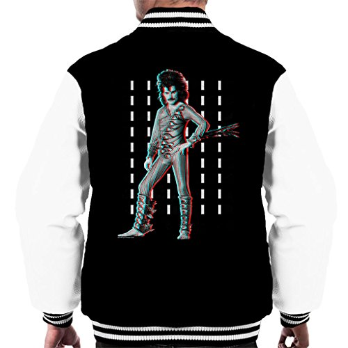 POD66 Freddie Mercury of Queen Eye kostuum 1984 Men's Varsity Jacket