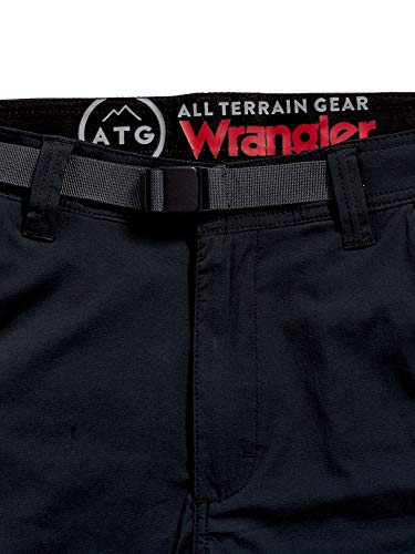 ATG by Wrangler Men's Convertible Trail Jogger, Caviar, 32W x 32L