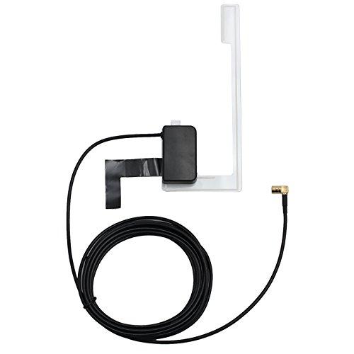 AUTOUTLET DAB + Antenna SMB DAB Antenna Digtiale Cavo Autoradio per Montaggio su Vetro Universale Antenna per Auto DAB