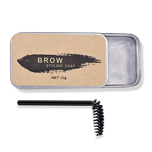 2 PCS 3D Feathery Brows Maquillage Baume, Styling Brows Savon Kit Long Lasting Setting Eyebrow Style, Waterproof Eyebrow Shaping Gel