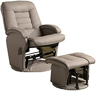 coaster deluxe swivel glider
