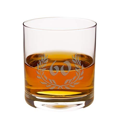 Geschenke 24 Whisky Glass - Verjaardag (60e verjaardag) Whisky tumbler van Leonardo voor een speciale Verjaardag - Whisky Glass.