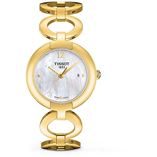 Ladies' Tissot Pinky Watch in Gold Tone Stainless Steel