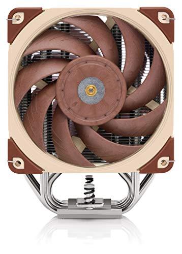 Noctua NH-U12A, Disipador de CPU de Gran Calidad con Ventiladores NF-A12x25 PWM de Alto Rendimiento (120 mm, Marrón) 4