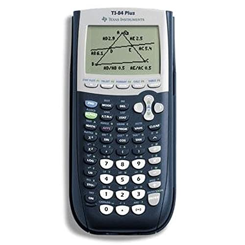 Price comparison product image Texas Instruments TI 84 Plus Graphics Calculator