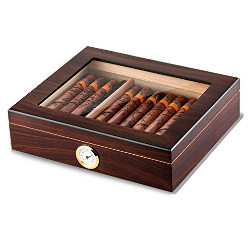 Caja De Cigarrillos Importada Caja De Cigarros TermostáTica De Pintura Mate De Madera Caja De Cigarros De Concha De Almeja Cuadrada